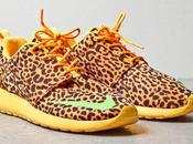 Nike Roshe Orange Leopard