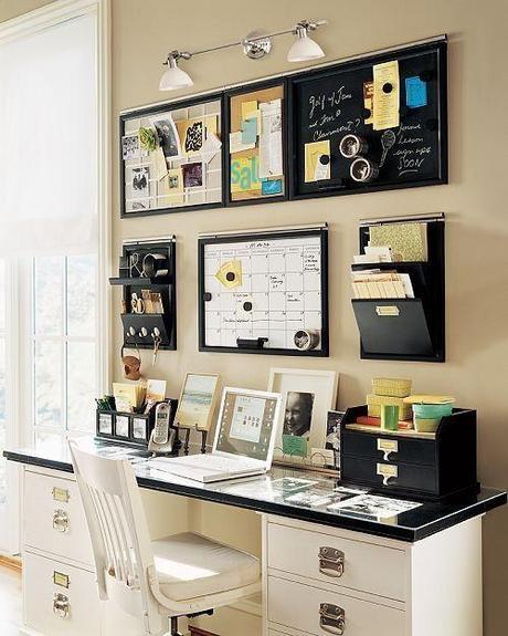Inspiration du lundi 4 sp cial bureau la maison lire for Bureau fait maison