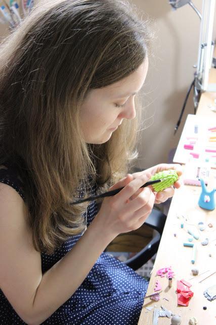 Une journée à l'atelier - Me, myself and my studio