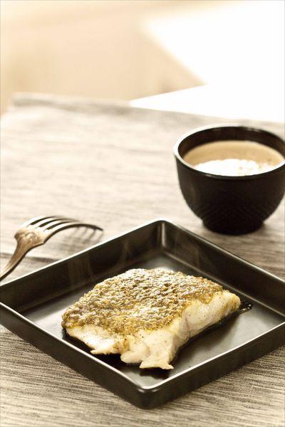 Filet de poisson à la pistache PL1