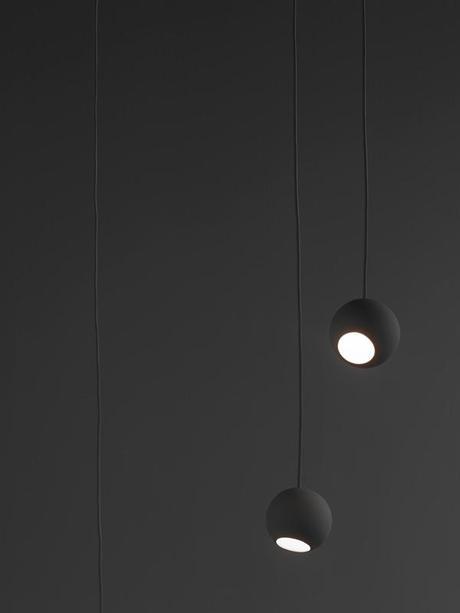 Globe luminaire pendentif et sphère par le Studio Vit