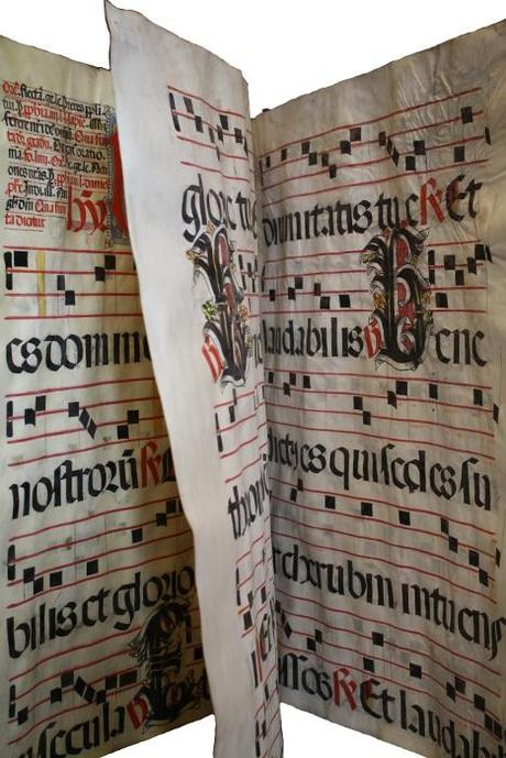 Antiphonaire rel4 Monumental antiphonaire du XVe siècle