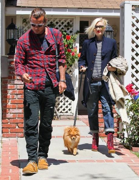 Gwen Stefani et son loulou