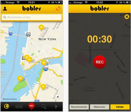 Bobler, un réseau social vocal made in France