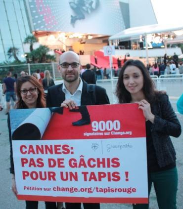 Festival de Cannes : le tapis rouge bientôt plus vert