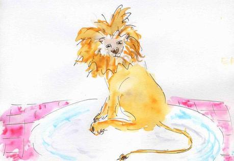 33) mangé lion