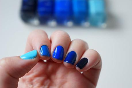 Ombre manucure nails tuto swatch vernis Kiko