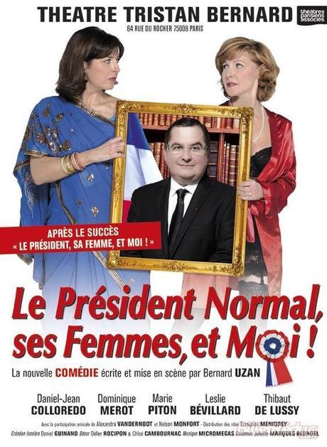 Le président normal ses femmes et moi affiche