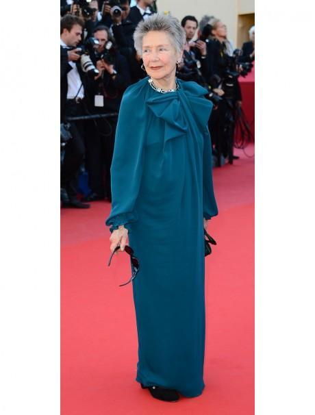 Emmanuelle Riva, sacrée meilleur actrice aux César, en Lanvin