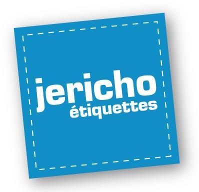 logo jericho Des jolies étiquettes