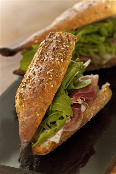 Sandwich Speck Roquette GP1