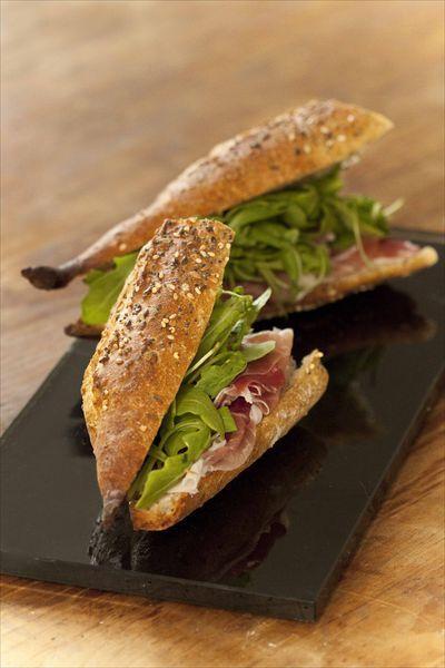 Sandwich Speck Roquette 1