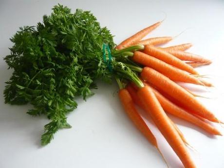 carotte,menu à thème,soupe de fanes de carotte,optimiser les restes,cuisiner les épluchures