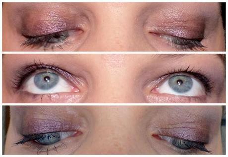 Du bleu, je suis passée au violet!