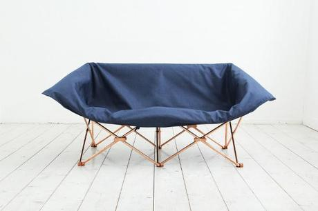 Sofa Kamp le canapé pliable par le studio KamKam