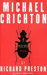Micro, l'ultime roman de Michael Crichton