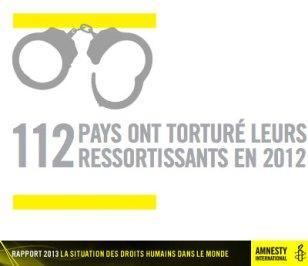 Le Code pénal français ne comporte toujours pas une définition de la torture conforme aux normes internationales.