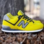 New Balance 574 Windbreaker Yellow