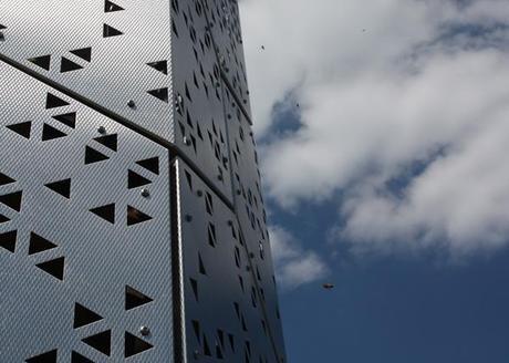 Un gratte-ciel pour abeilles, par les étudiants de l'Université de Buffalo - Architecture