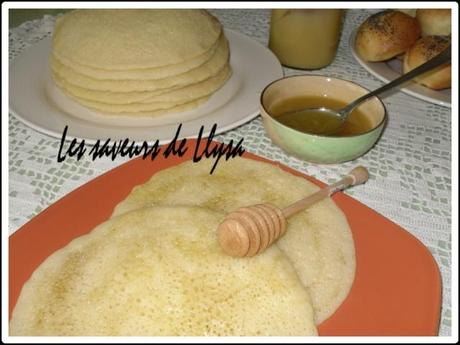 Baghrirs ou crèpes mille trous