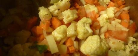 Bouillon de Légumes et ses minis pâtes aux œufs « maison »