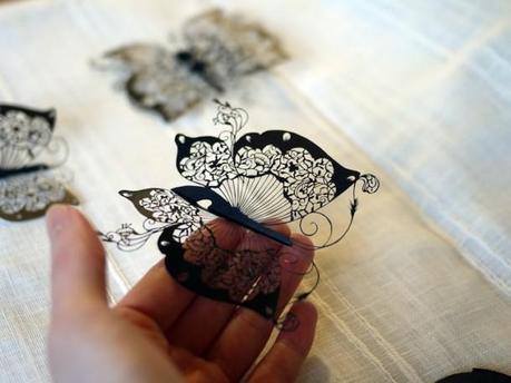 Dentelles de papier de Hina Aoyama