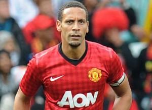 Rio Ferdinand Manchester United 2012-2013