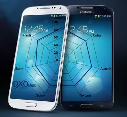 DxOmark : Le Samsung Galaxy S4 détruit la concurrence