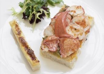 Croque homard Epicerie Rotisserie Jeanne B 340x242