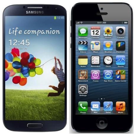 10 millions de Galaxy S4 en 30 jours, 5 millions d'iPhone 5 en un Week...