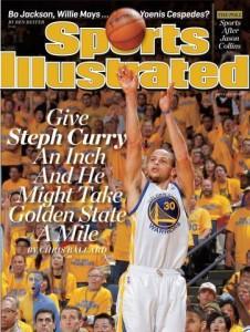 Stephen Curry brille par sa capacité à allumer des mèches longue distance. (Sports Illustrated)
