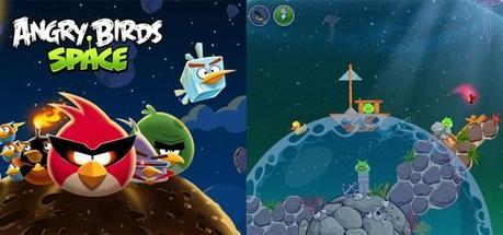 Bon plan appli : Angry Birds Space temporairement gratuit !