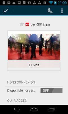 Numérisez vos documents avec Google Drive pour Android