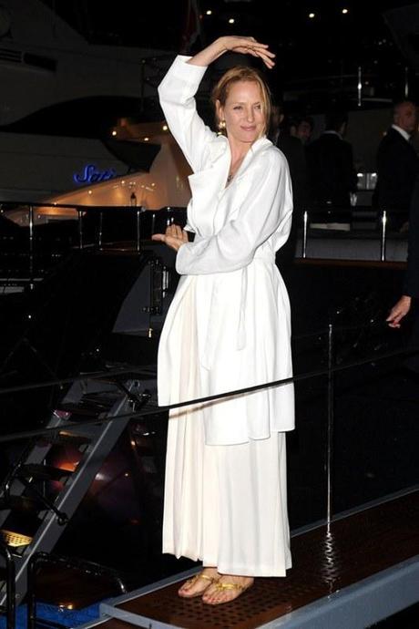 Les plus beaux look de la Yacht Party Roberto Cavalli à Cannes...