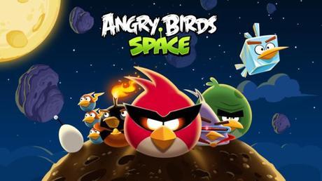 Angry Birds Space sur iPhone et iPad, gratuit pendant une semaine...