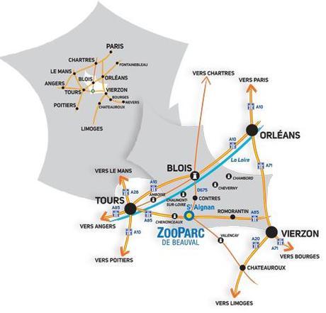 acces zooparc beauval Le prestigieux ZooParc de Beauval