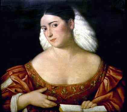 Bernadino Licinio, vers 1515(?): Portrait d'une patricienne