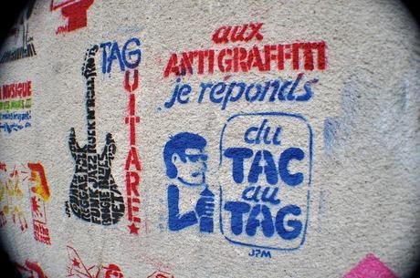 Aux Anti Graffiti Je Réponds du Tac au Tag