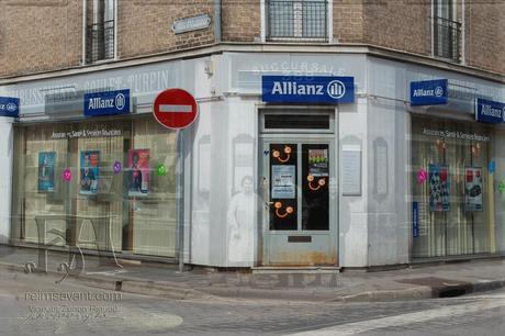 Succursale N°388 des Ets Goulet-Turpin, rue de Cernay et rue d'Alsace-Lorraine