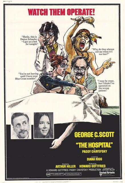 L'Hôpital - The Hospital, Arthur Hiller (1971)