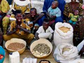 cuisine d'une famille africaine
