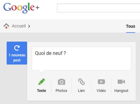 Google+ fait peau neuve : comment personnaliser la nouvelle interface ?
