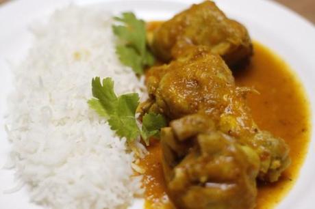 Poulet façon Malwani – Malwani chicken curry - Malwani kombdi
