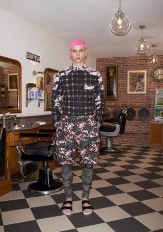 La pré-collection été 2014 Givenchy Men...