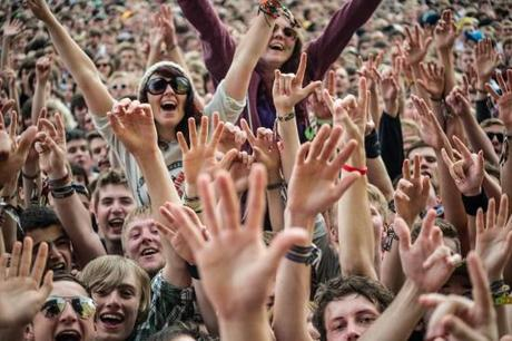 Festival public rock
