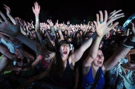 Festival rock public