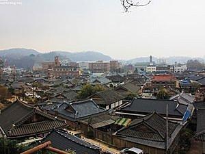 Le village de hanok à Jeonju