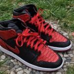 Air Jordan 1 High Banned Python