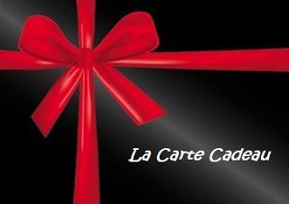 La carte cadeau: simple mais efficace