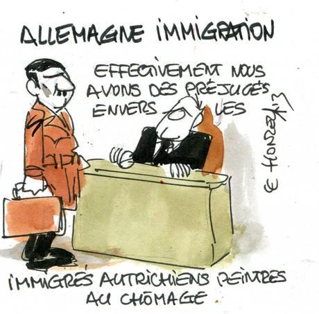 L'Allemagne a accueilli 1 million d'immigrés en 2012